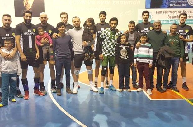 Solhan Spor, Aksaray'dan Galibiyetle Döndü