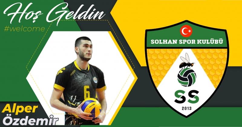 Solhan Spor, Alper Özdemir ile Anlaştı