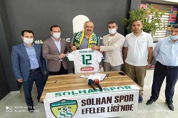 Solhan Spor Arığ İle Sözleşme İmzaladı