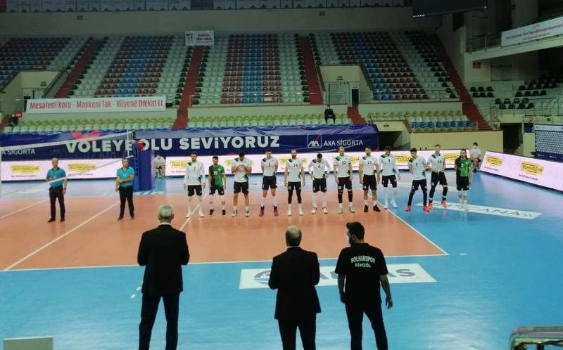 Solhan Spor, Arkas Deplasmanından Eli Boş Döndü
