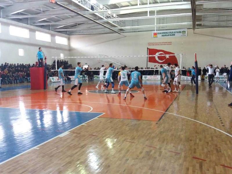 Solhan Spor, Haliliye Belediyespor'u Puansız Gönderdi