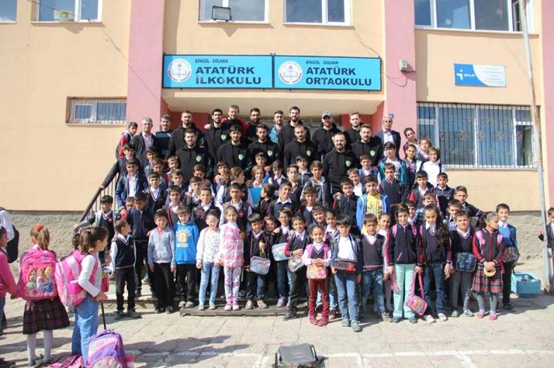 Solhan Spor, Öğrencilerle Bir Araya Geldi