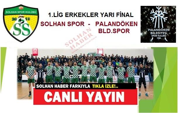 Solhan Spor-Palandöken Playoff Mücadelesi