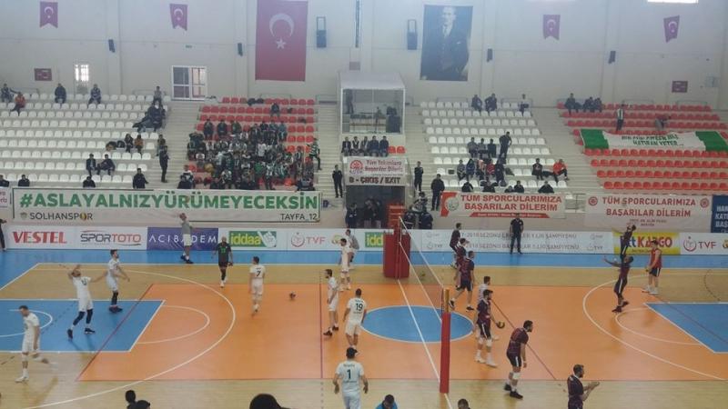 Solhan Spor, Play-Off'a Galibiyetle Başladı