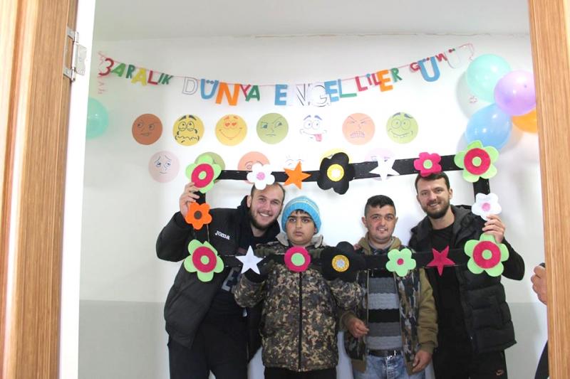 Solhan Spor'dan Özel Öğrencilere Ziyaret