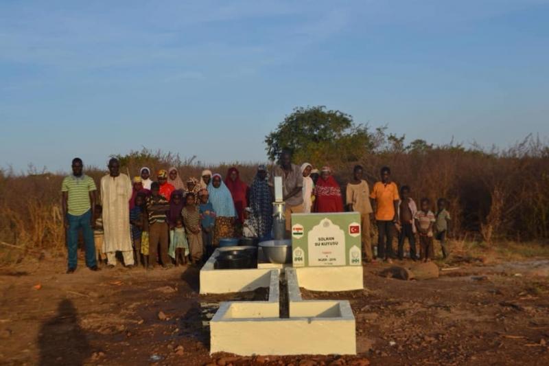 'Solhan Su Kuyusu' Nijer'de Açıldı