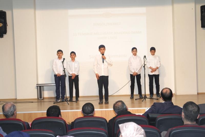 Solhan'da 10. Arapça Bilgi Yarışması Düzenlendi
