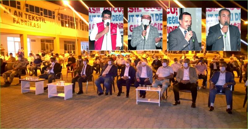 Solhan'da 15 Temmuz Etkinliği Düzenlendi
