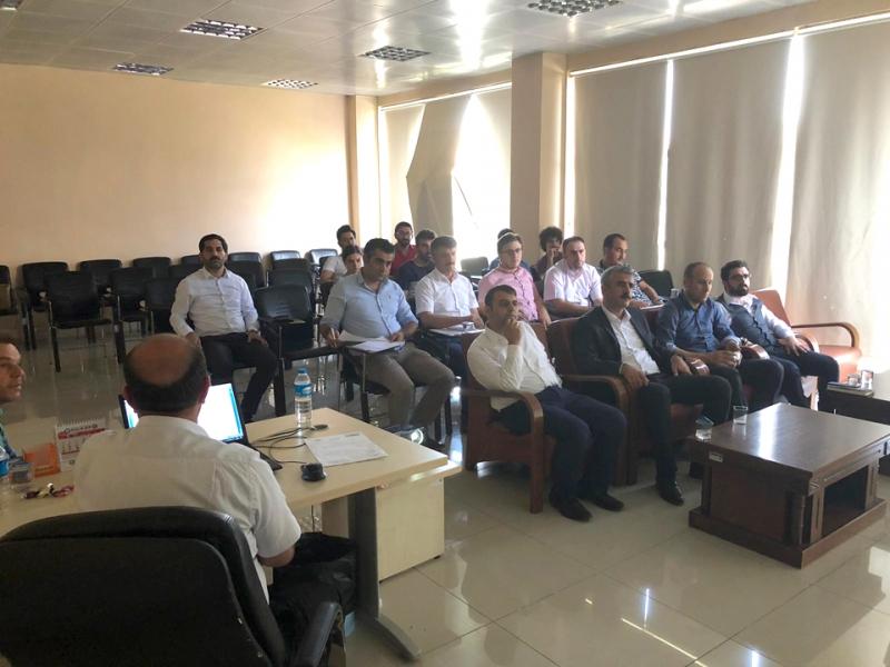 Solhan'da Askom Toplantısı Düzenlendi