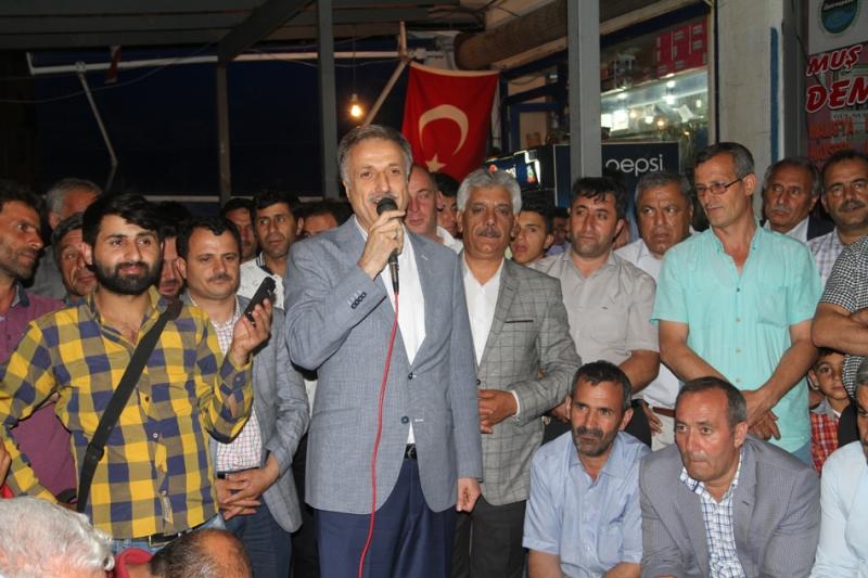 Solhan'da Halkın Darbe Nöbeti Devam Ediyor