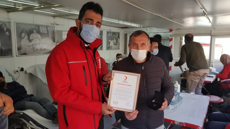 Solhan'da Kan Bağışına Yoğun İlgi