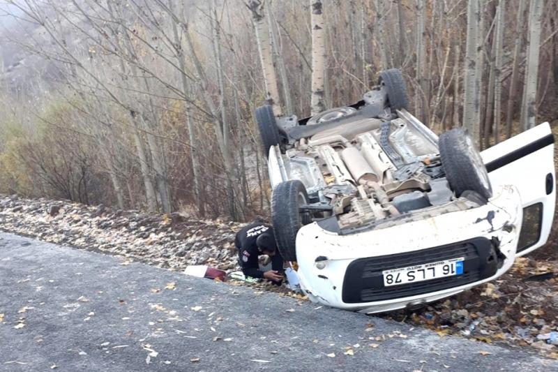 Solhan'da Kaza: 1 Yaralı