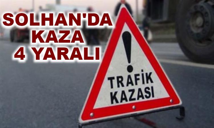 Solhan'da Kaza: 4 Yaralı