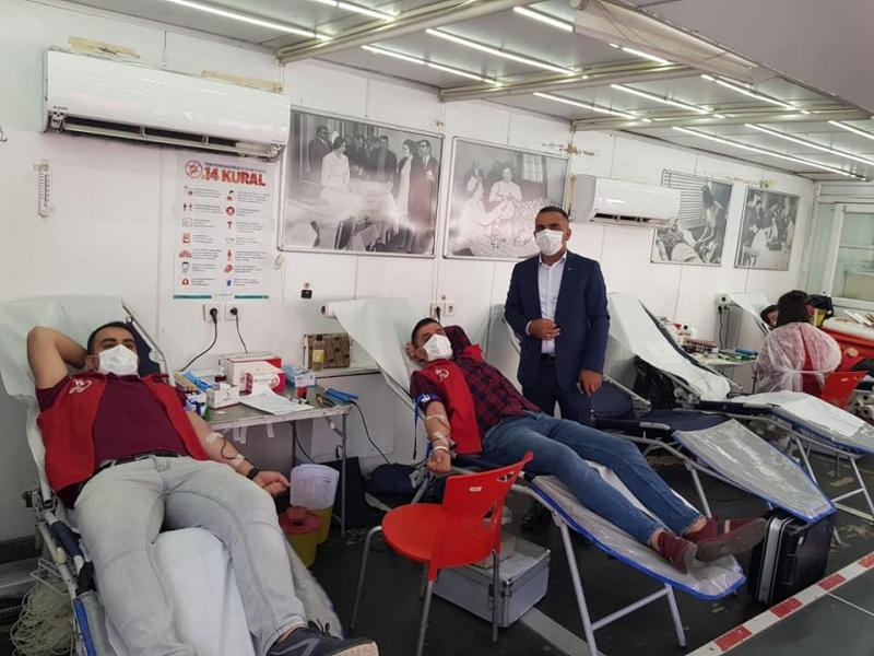 Solhan'da Kızılay'a 173 Ünite Kan Bağışı Yapıldı