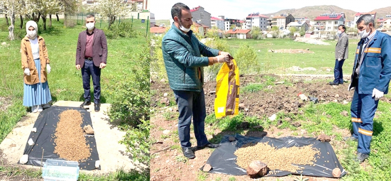 Solhan'da Sokak Hayvanları Unutulmadı