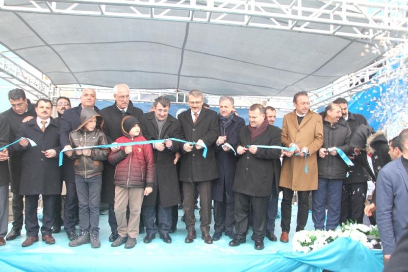 Solhan'da 'Toplu Açılış Töreni' Yapıldı