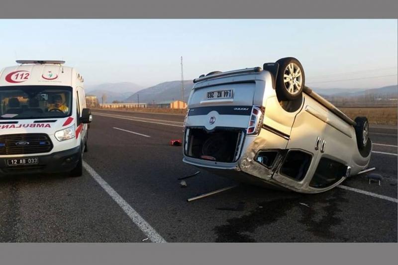 Solhan'da Trafik Kazası