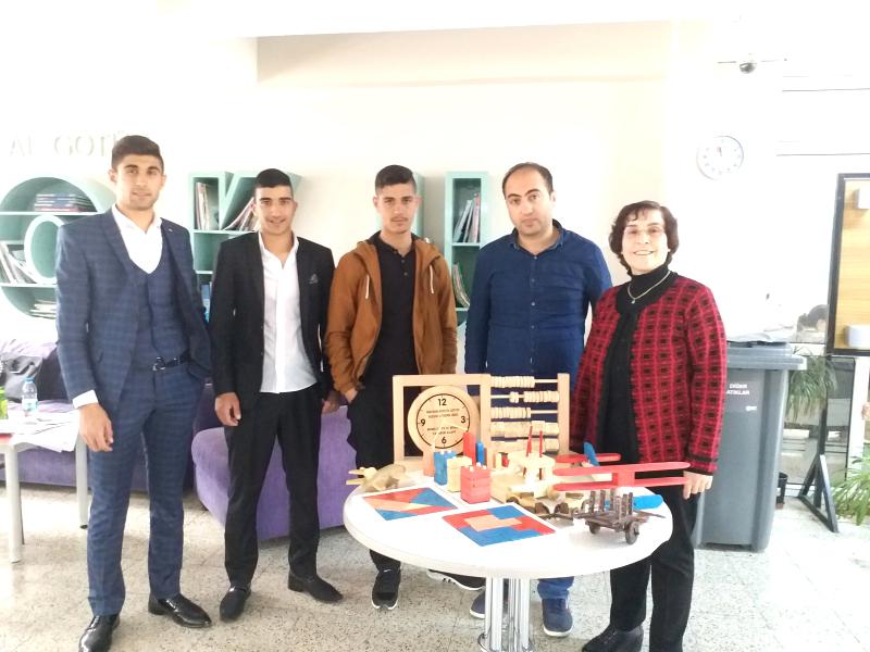 Solhanlı Öğrenciler, Ahşap Oyuncak Yarışmasına Katıldı