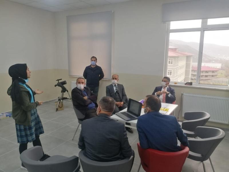Solhanlı Öğrenciler, Tübitak Bölge Finallerinde