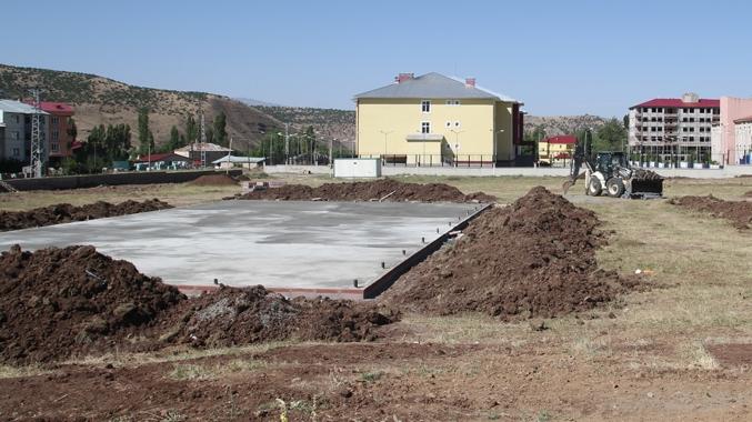 Spor Kompleksi'nin Yapımına Başlandı