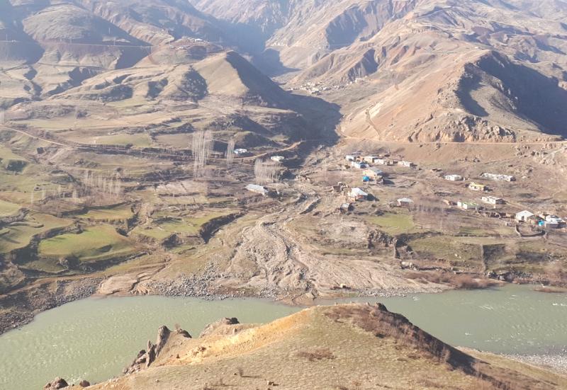 Sular Altında Kalacak Kale Köyü Boşaltıldı