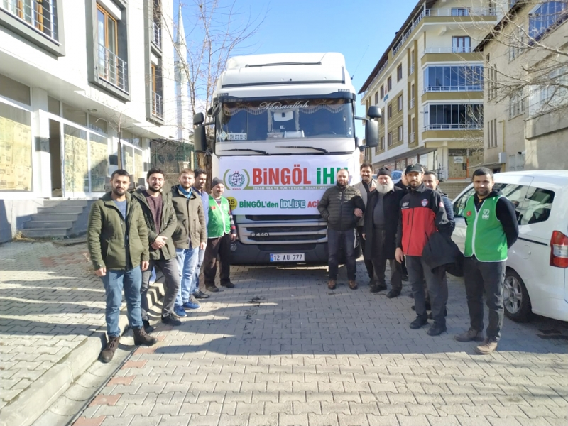 Suriye için Toplanan Yardımlar Teslim Edildi