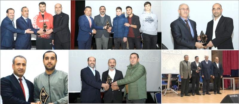 Tavz-Der Tarafından 'Bingöl Başarı Ödülleri Gecesi' Düzenlendi