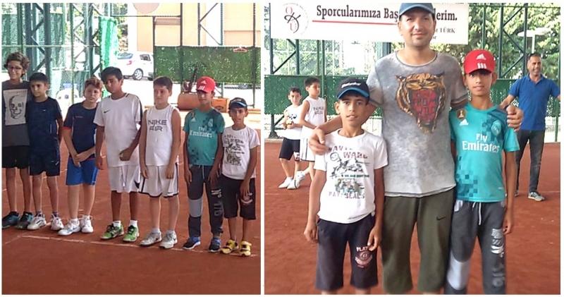 Teniste Solhanlı Gençler Derece Yaptı