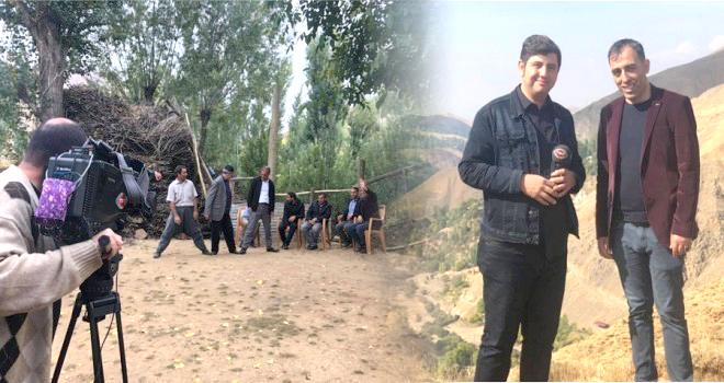 TRT Kurdi KanalındaTavz Kültürü Tanıtıldı