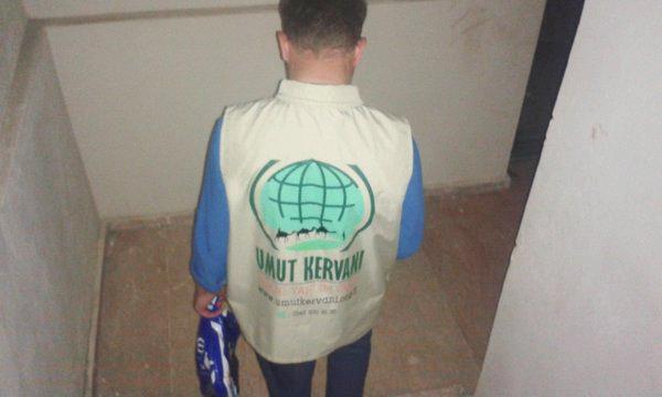 Umut Kervanı'ndan 130 Aileye Kurban Eti