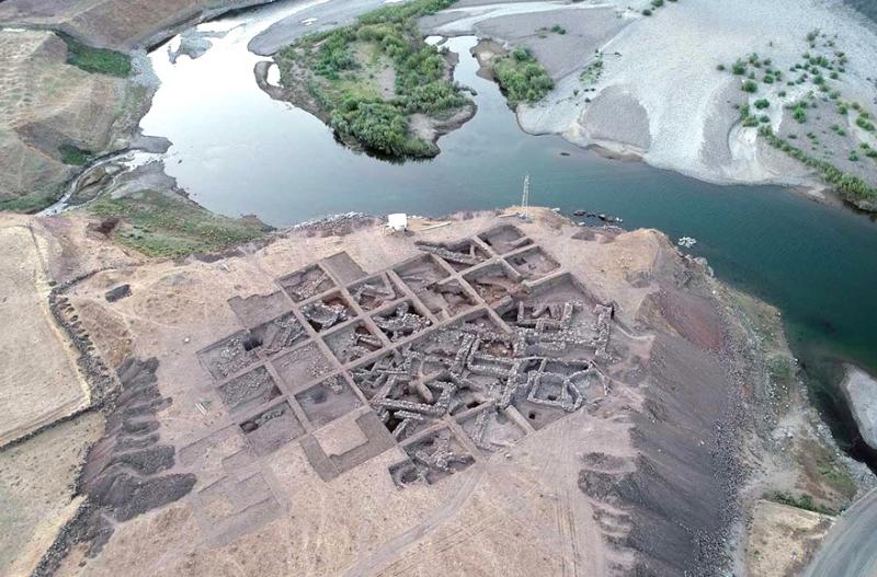 Urartu Dönemine Ait 3 Bin 600 Yıllık Yerleşim Yeri
