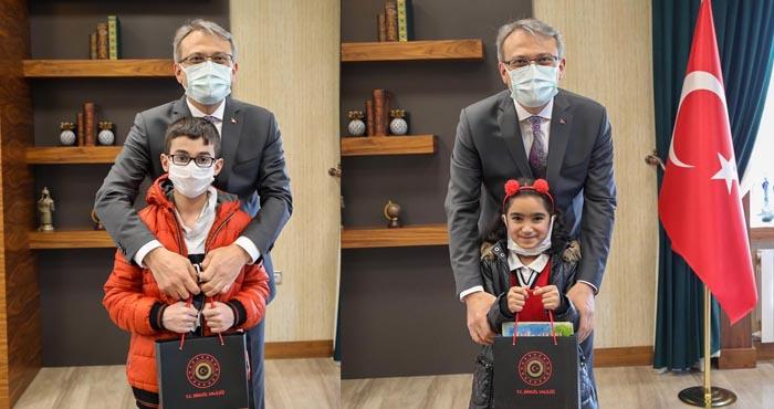 Vali Ekinci'ye 'Kütüphaneler Haftası' Ziyareti