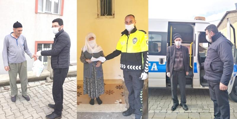 """""""Vefa Sosyal Destek Grubu"""" Aralıksız Çalışıyor"""
