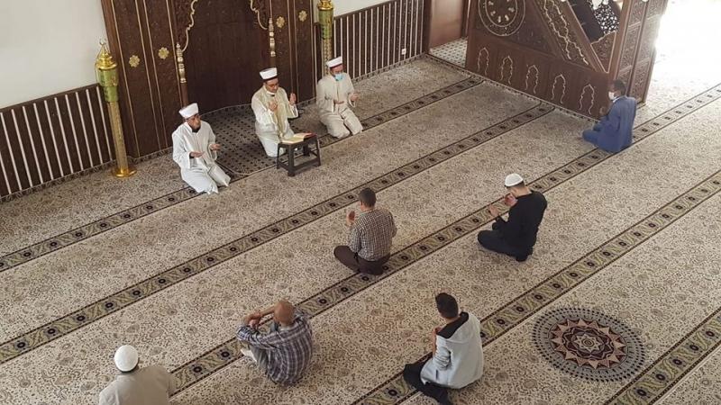 Vefat Eden Din Görevlileri İçin Hatim Duası Okundu