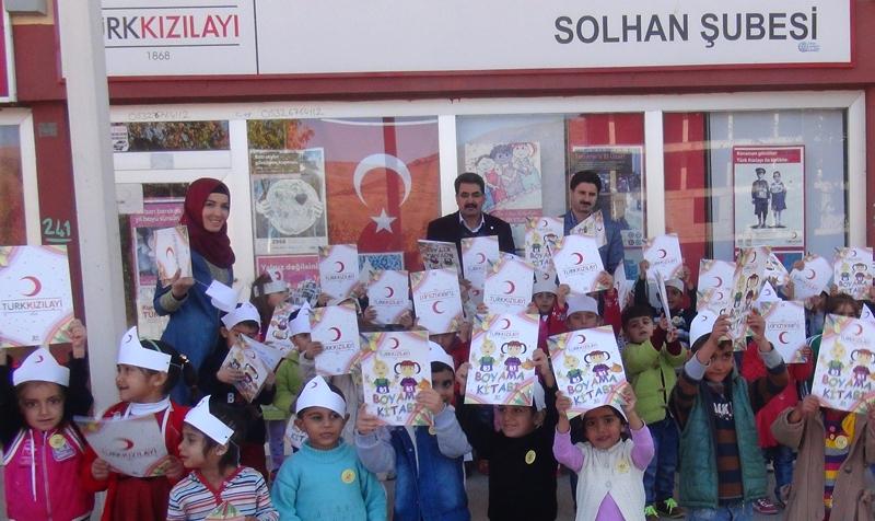 Veli Tuğa Anaokulu Öğrencilerinden Kızılay'a Ziyaret
