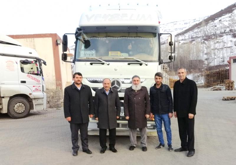 Yardım Tır'ı İdlib İçin Yola Çıktı