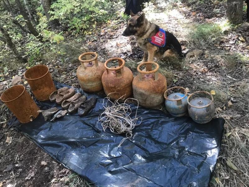 Yayladere de PKK Sığınakları İmha Edildi