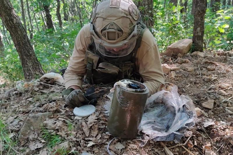 Yayladere'de PKK'ya Ait Mühimmat Ele Geçirildi