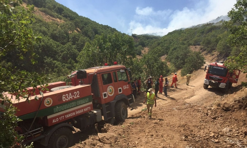 Yayladere'deki Yangınlar Kontrol Altına Alındı