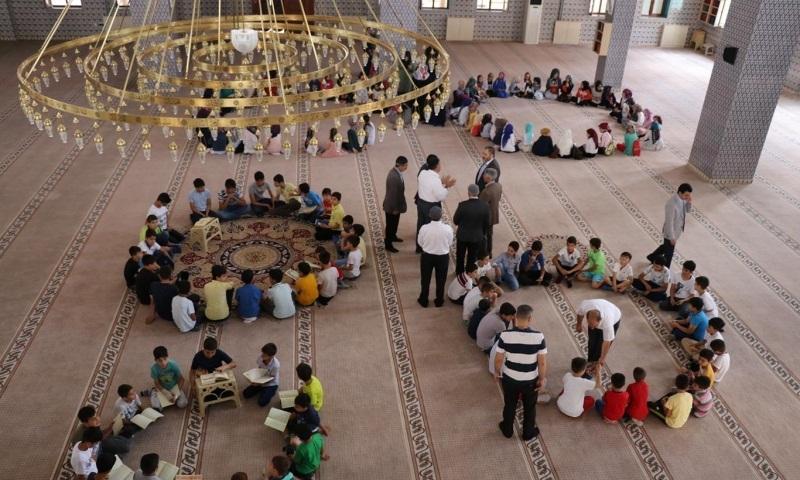 Yaz Kur'an Kursları Başladı; Haydi Çocuklar Camiye!