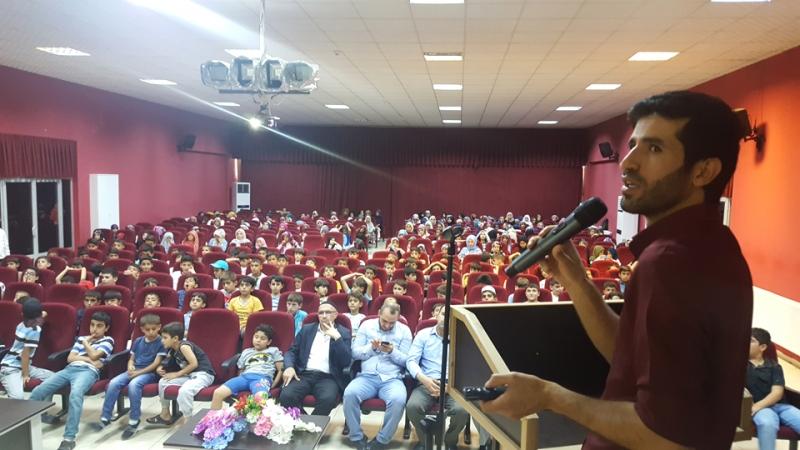 Yaz Kur'an Kursu Öğrencilerine Konferans