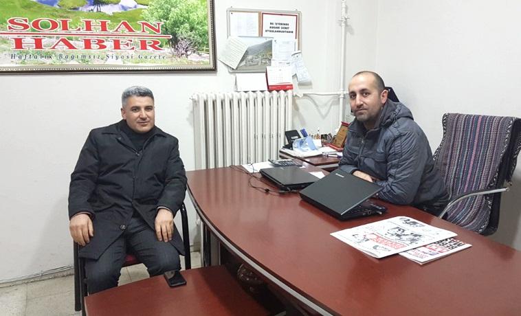 Yazı İşleri Müdürü Kaya'dan Gazetemize Veda Ziyareti