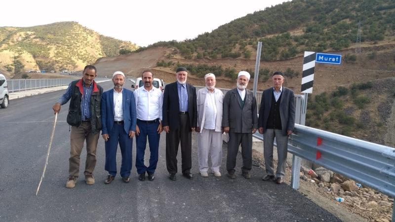 Yeni Murat Köprüsü Dualarla Açıldı