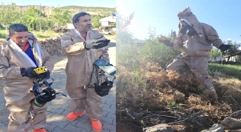 Yenidal Köyünde Gaz Ölçümü Yapıldı