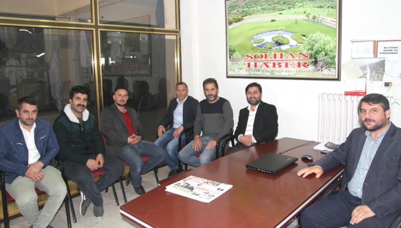 Yeniden Refah Partisinden Gazetemize Ziyaret