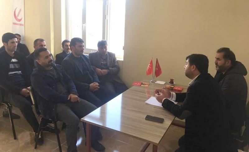 Yeniden Refah Partisi İlçe Teşkilatı Çalışmalarını Değerlendirdi