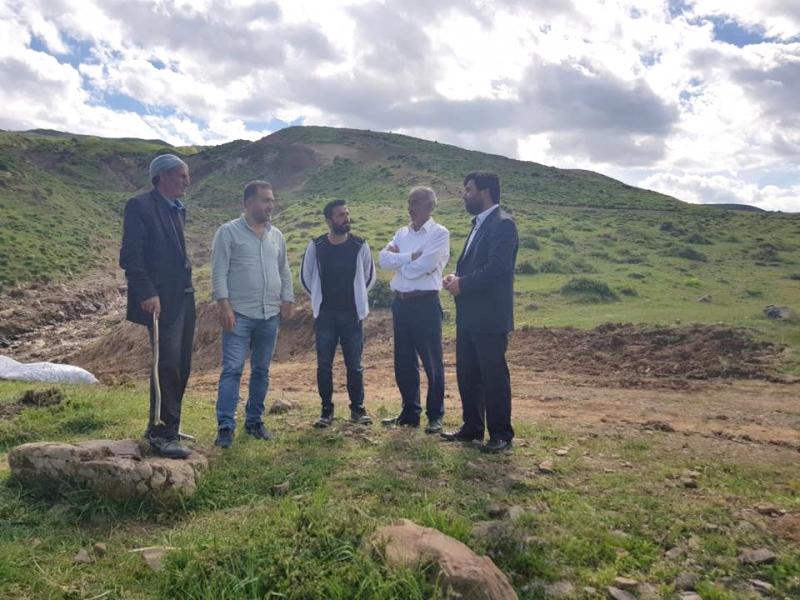 Yeniden Refah'tan Ömeran'a Ziyaret