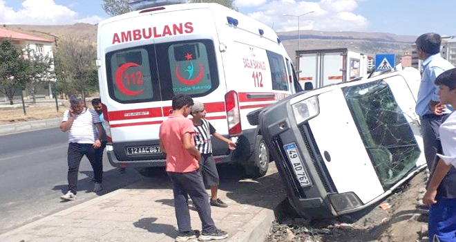 Yeşilova'da Kaza: 6 Yaralı