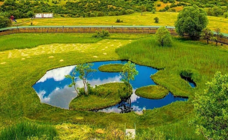 Yüzen Ada'nın Doğal Güzelliği Tanıtıldı